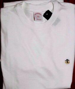 NWT 346 BROOKS BROTHERS Men's Basic 100% Cotton Short Sleeve T Shirt