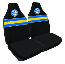 Front Car Seat Covers - NRL Parramatta Eels - Set Of 2 -  One Size Fits All