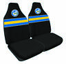 Front Seat Covers - NRL Parramatta Eels - Set Of 2 -  One Size Fits All