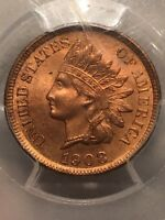 1908-S Indian Head Cent - PCGS MS65RD (SCARCE in this GRADE) #10463