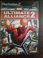 Marvel Ultimate Alliance 2 Sony Playstation 2 PS2 Brand New Sealed Black Sealed