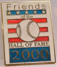 2000 Friends National Baseball Hall of Fame Induction Weekend Member Lapel Pin