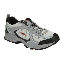 New Avia Men's A5821M Gray/Black/Orange Performance Trail Running Shoe Sz 9M