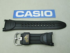 Genuine Casio Pro Trek PRG50 PAG50 PRG60 PAG60 watch band strap rubber black
