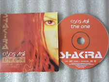 CD-SHAKIRA-OJOS ASI-THE ONE-LAUDRY SERVICE-GRANDES EXITOS-(CD SINGLE)03-2TRACK