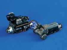Verlinden 1/35 Maybach HL 120 TRM Panzer III Tank Engine and Transmission 1113