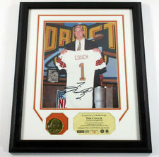 Tim Couch Signed Photo and Coin Highland Mint Framed TriStar Auto DF025428