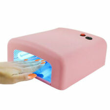 Lámpara de Uñas Manicura CCFL CFL por Gel Esmalte UV LED Luz Secador PARA SECAR