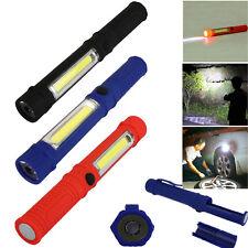 magnétique Lampe torche LED Stylo de travail Mini Inspection Poche + clip