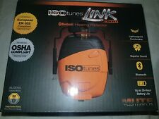 Isotunes Link,IT-31, noise Reduction Bluetooth Ear muffs, OSHA, EN 352compliant