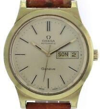 OMEGA Geneve Day Date, Automatik- Herren- Armbanduhr,  Kal. 1022, 70er Jahre