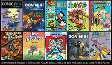 LOS 40  MEJORES COMICS INFANTILES EN DIGITAL - MEXICAN COMICS