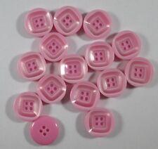 Knopf Knöpfe  60  stück  rosa  knöpfe  10  mm groß   #1784#