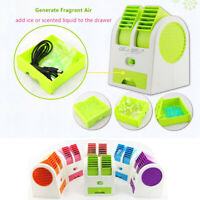 Portable Mini Air Conditioner Cool Cooling Artic Air Cooler USB Fan Humidifier