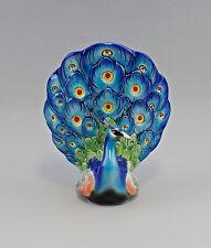 PORCELLANA PERSONAGGIO ENS Art Deco Colori bel bambino coda di pavone h21, 5cm 9941744