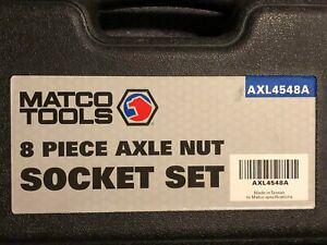 MATCO AXL4548A 8-PIECE AXLE NUT SOCKET SET