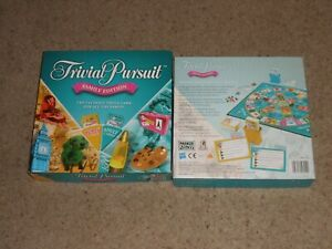 TRIVIAL PURSUIT FAMILY EDITION BY HASBRO 2006 VERY GOOD CONDITION
