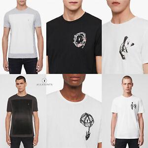 All Saints Mens Crew Neck Designer AllSaints Cotton Fashion Design T-Shirt Tee