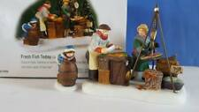 Dept 56 Christmas in the City Fresh Fish Today!