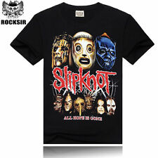Fashion Men slipknot 3D slipknot Print rock style T-Shirt tops Casual Funny tee