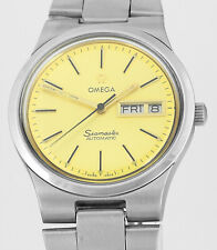 1973 OMEGA Seamaster Automatic Day Date Vintage Mens Wrist Watch