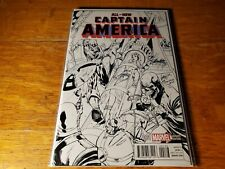 All-New Captain America (2015) #1 J. Scott Campbell Stan Lee Sketch Variant (NM)