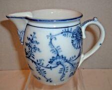 Antique Dresden Blue Onion Milk Pitcher by Villeroy & Boch