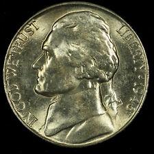 Jefferson Nickel, 1946 S Gem BU MS PQ. Lot # 092
