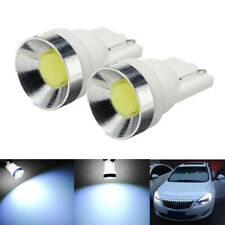 2Pcs T10 194 168 W5W COB Car LED Width Wedge Side Light Lamp Bulb 6000K White