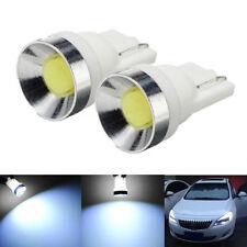 2Pcs T10 194 168 W5W COB Car LED Width Wedge Side Light Lamp Bulb 6000K White