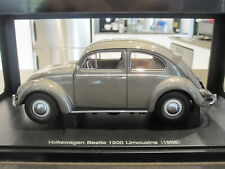 1:18 AUTOART 79777 1955 VOLKSWAGEN VW BEETLE 1200 POLARIS SILVER *NEW*
