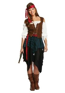 Women's Pirate Costume one size fits most