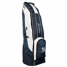 BRAND NEW Team Golf New York Yankees Golf Bag Travel Cover Navy/White 96881