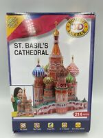 Cheatwell Games St. Basil's Cathedral 3D Puzzle 214 Pieces Push Fit Age 8+ Boxed