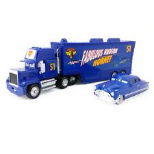 Disney Pixar Car No.51 Mack Racer's Truck & Doc Hudson Toy 1:55 Loose  Boys Gift