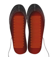 USB Electric Heated Shoe Insoles Sock Feet Heater Foot Winter Warmer Insole 8-11