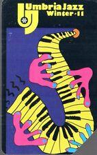 41-Scheda telefonica Umbria Jazz winter 11 scadenza 31/12/2004 € 5,00
