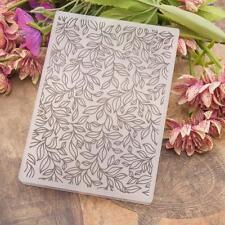 DIY Scrapbooking Plastic Flower Embossing Folder Template for Album Card Decor