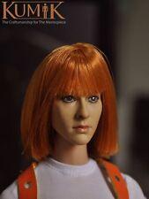 1/6  KUMIK  KM15-6 Milla Jovovich female Head Sculpt For Hot Toys Kumik figure