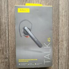 New listing Jabra Talk 45 Bluetooth Headset Noise Cancelling & Voice Control - D1940 New