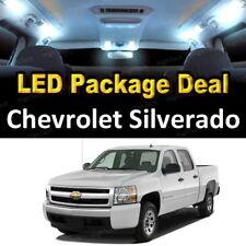 For 1999 - 2006 Chevrolet Silverado LED Lights Interior Package Kit WHITE 12PCS