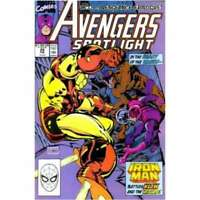 Avengers Spotlight #29 in Near Mint condition. Marvel comics [*pa]