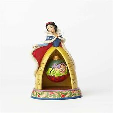 Disney Traditions 2017 Jim Shore SNOW WHITE & DOPEY Christmas Figurine 4057942