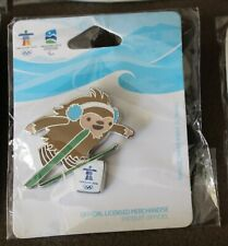 Quatchi ski Jumping 1265 AUTHENTIC Vancouver 2010 Winter Olympic PIN new