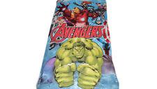 Kids Marvel Avengers Fleece Blanket with Trimmed Edge