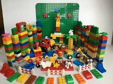 XXL Lego Duplo Konvolut Bauplatte,Tiere,Lok, Steine, Figuren, Fahrzeuge.....