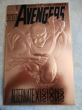 March 1993 Avengers # 360 Bronze Foil Cover  NM 9.4