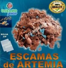 Comida escamas de artemia para peces