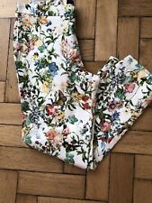 Ladies Zara Floral Print Trouser Size Large