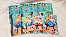 Lot of 10 Tsum Tsum Disney Spiral Composition Notebooks Assorted New